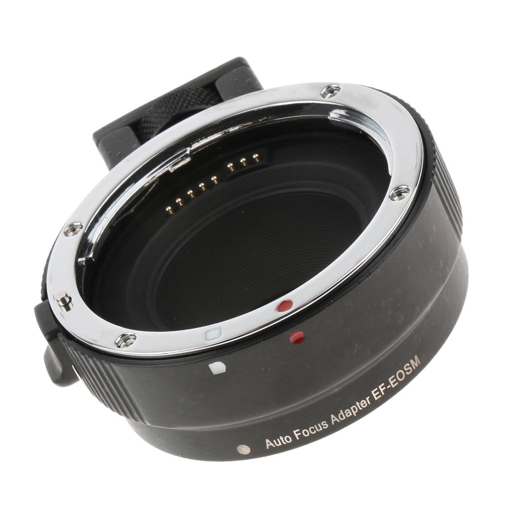 Adaptateur d'objectif pour Canon EF-S à EOS M100/M50/M10/M5/M6/M5/M3/M2/M1 convertisseur de caméra sans miroir Surface lisse