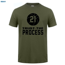 GILDAN  More Color Joel Embiid Philadelphia Trust The Process T-shirt