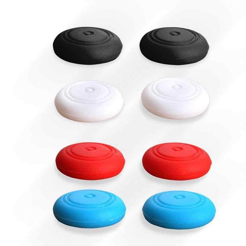 EastVita 6 uds, tapas de silicona analógicas para palanca de pulgar, tapas para control de interruptor, palos de piel para NS Joycon, tapa de palanca de pulgar