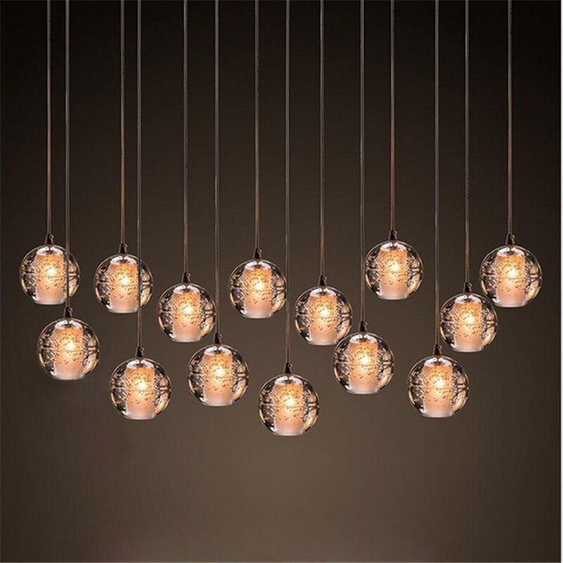 Magic Ball chandelier en cristal 14 Lumières Meteor Moderne luminaire Avec Chrome Poli Rectangulaire base en acier inoxydable