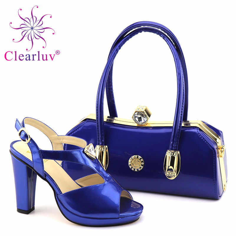 ... New Woman Italian Shoes and Bags Set Decorated with Rhinestone Sales In  Women Matching Shoes and ... e71d2ab33206