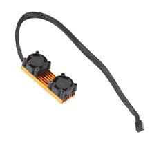 Алюминий радиатора кулер радиатор обогреватель 3in1 для SM951 960 961 быстрого охлаждения Cooler Вентилятор для M.2 2280 SSD