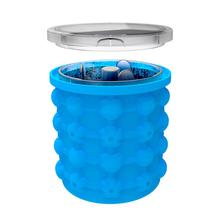 Silicone Ice Bucket Ice Popsicle Maker DIY Fast Cold Ice Bucket For Parties Birthday Parties