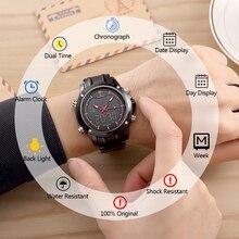 Оригинальный NAVIFORCE Элитный бренд мужской спортивный военный часы для мужчин кварцевые аналосветодиодный говые светодиодные часы мужской водонепроница
