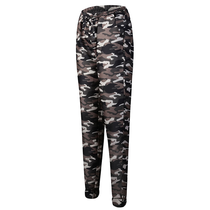 2019 New Stylish Women Camouflage Pants Camo Cargo Joggers Military Army Harem Trousers 4