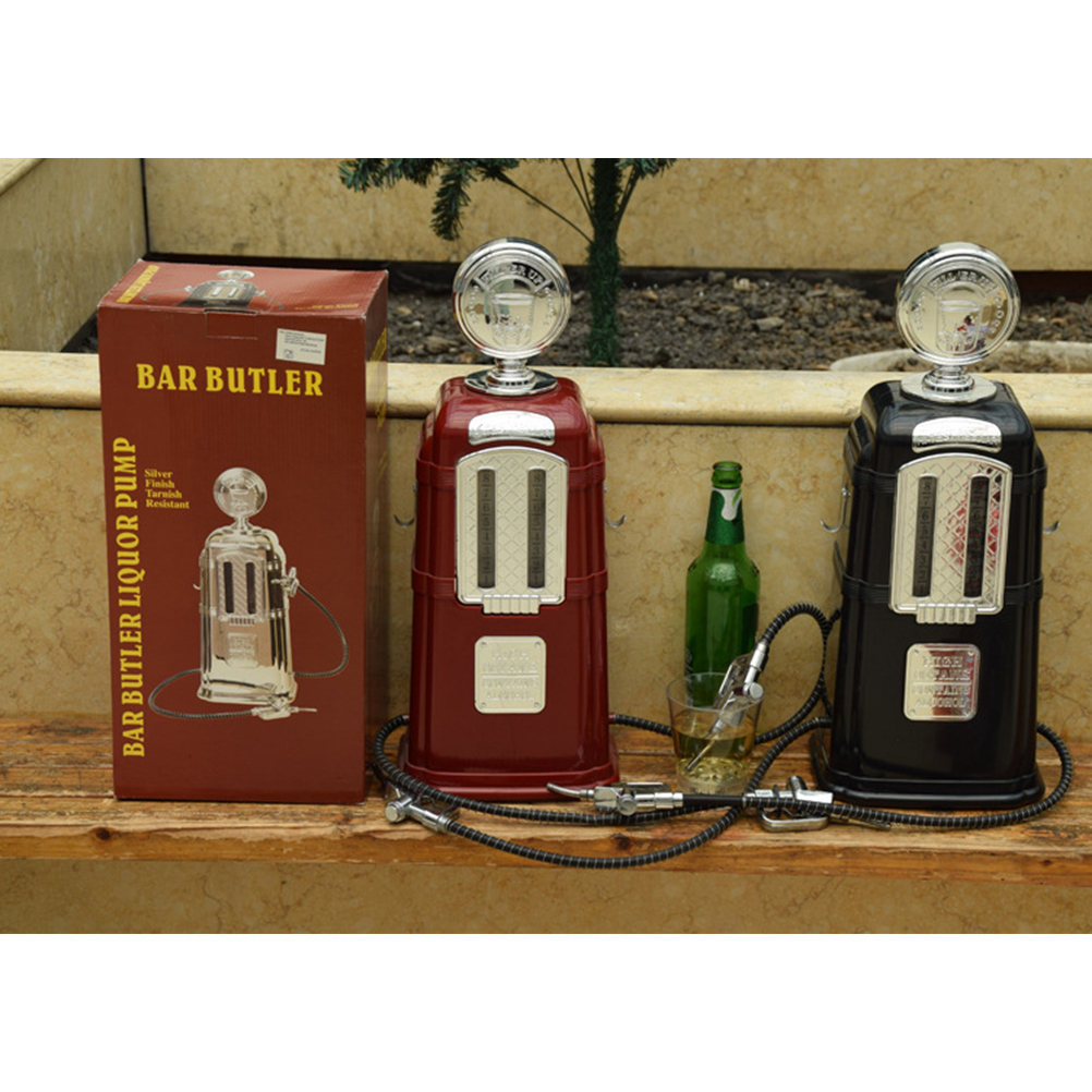 1PC 1080ML Beer Dispenser Double Pistols Liquor Pump Alcohol Liquid Non-alcoholic Beverage machine Bar Tool image