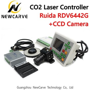 Ruida RDV6442G CCD Visual CO2 Laser Controller System For Cutter Engraver Machine NEWCARVE