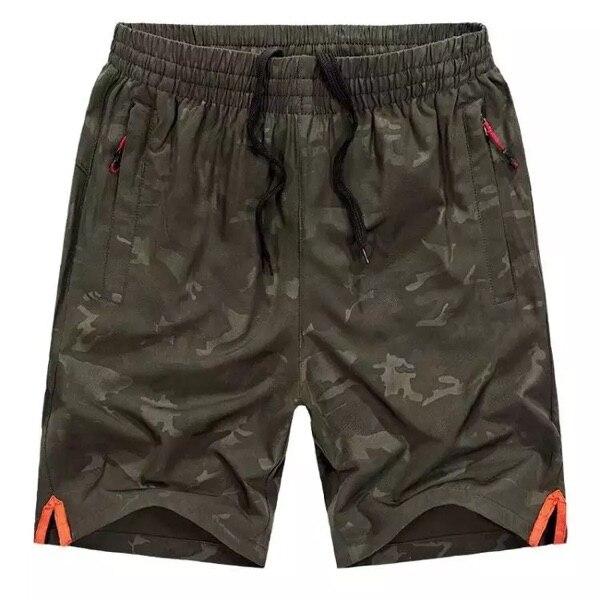 Casual Shorts Bermuda-Side 8xl Clothing Pocket Elastic-Waist Male Quick-Dry Mens Plus-Size