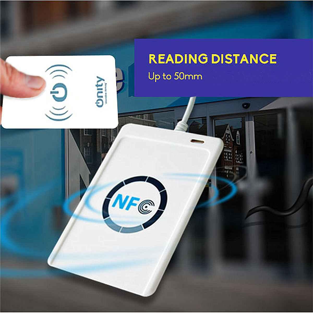 ACR122u NFC Reader Writer 13.56Mhz RFID Copier Duplicator Contactless Smart Reader Writer/USB + 5pcs UID Card + SDKACR122u NFC Reader Writer 13.56Mhz RFID Copier Duplicator Contactless Smart Reader Writer/USB + 5pcs UID Card + SDK