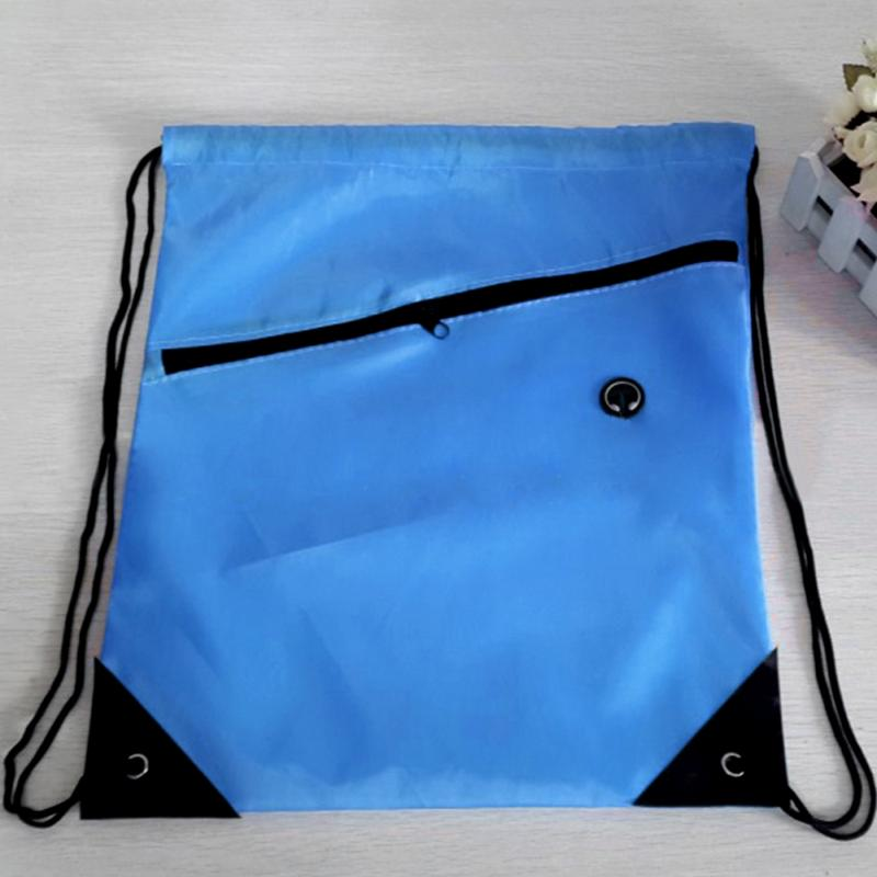 Swimming Beach Drawstring Bag Exercise Backpack Sack Bag Small Slot Riding Backpack Gym Drawstring Shoes Men Women Bags