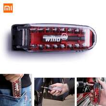 Xiaomi Wiha 17 in 1 Daily Use Screwdriver Set Head Precision Chrome Vanadium Steel DIY Screwdriver Bits Cycling Repair Tool Set(China)