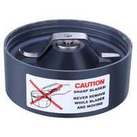 Hoja de extracción para Nutribullet Nutri reemplazo 600W junta de la hoja recta reemplazo del exprimidor