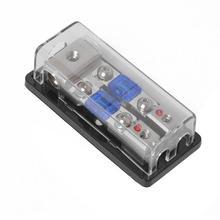 VODOOL 12/24/32 В 2 варианта 4 Датчик до 8 Датчик стерео аудио мини ANL предохранитель блок с 60A предохранители Замена аксессуары