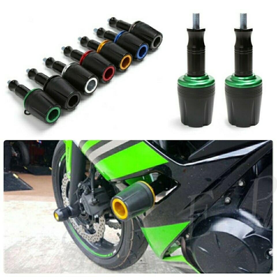 Moto CNC En Aluminium Cadre Sliders Roulettes Protection Pour Kawasaki Ninja 250 Ninja 300 Z650 Z900 Z800 Z1000 Z1000SX ZX6R ZX10R