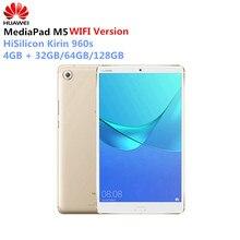 """Huawei Mediapad M5 10.8"""" Android 8.0 Octa Core WiFi Tablet PC Kirin 960s 2560x1600 2K IPS Fingerprint 4GB + 32GB/64GB/128GB PC"""