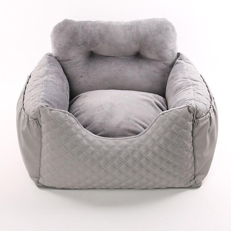 Car Safety Convenience Dog House Teddy Corgi Pet Puppy Nest Out Travel Car Seat Dog Pad Cushion Car Kennel