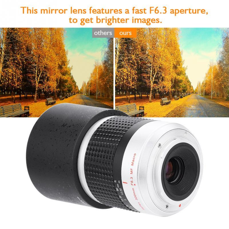 300mm F6.3 APS-C Telephoto Lenses Mirror Lens For Sony-E M4/3 Camera Mount Hot Sale