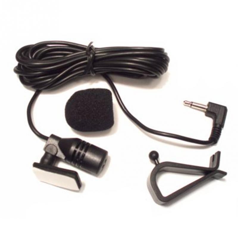 3.5mm Car-mounted Microphone Car Audio Accessories Stereo And Mono External Mic Bluetooth Portable Supplies