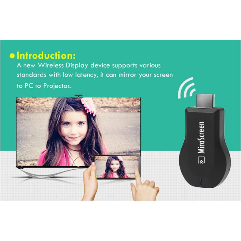 2020 Hot Sale Miracast HDMI WIFI Display DONGLE Airplay Receiver Full HD 1080P DLNA Dongle Adapter TV Stick