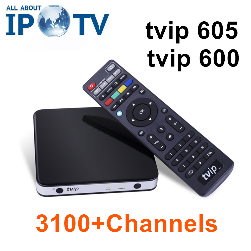Original Tvip605 Tvip600 4K USA Canada IPTV North America UK Spain Bulgaria Denmark Portugal Tvip 605