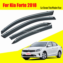 Car Sun Visor Window Rain Shade for Plastic Accessories For KIA Forte 2018