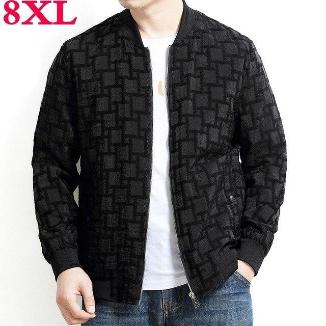 2019 Plus kích thước 8XL 7XL 6XL 5XL Áo Khoác Nam Triều rời người lớn Nam Nam lớn kích thước áo khoác