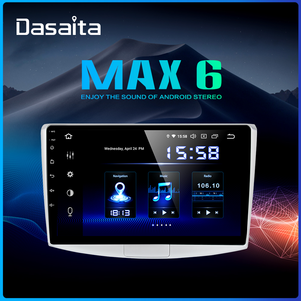 Dasaita Car Radio Android 9 0 for VW Passat 1 Din 2010 2011 2012 2013 2014