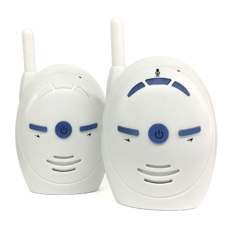 V20 портативный детский Sitter 2,4 монитор GHz Детские аудио цифровые голосовые трансляции двойной Talk Walkie-talkie