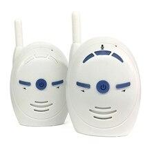 V20 taşınabilir bebek bakıcısı 2.4GHz bebek izleme monitörü ses dijital ses yayını çift konuşma Walkie talkie