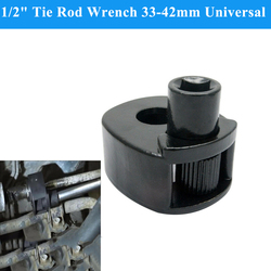 1/2 polegada Tie Rod Wrench 33-42mm Faixa de Remoção Da Haste de Direção Universal Ferramenta de Garagem