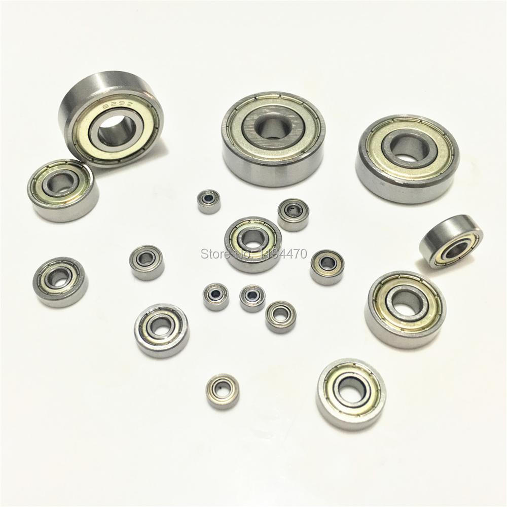 1-10pcs 6800ZZ 6801ZZ <font><b>6802ZZ</b></font> 6803ZZ 6804ZZ 6805ZZ 2Z ZZ Deep Groove Ball Bearing Metal Shielded image