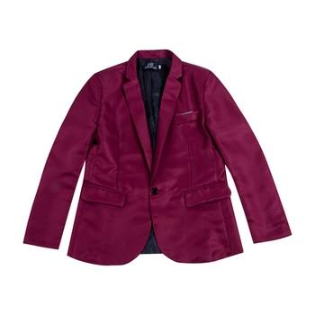 Men Blazer Coat Jacket Outwear Solid Suit Formal Business Star Stage Club Suit