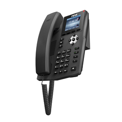 Marca fanvil x3g tela colorida gigabit ethernet voip telefone suporte poe 2 linhas sip ehs fone de ouvido sem fio hd voz ip telefone
