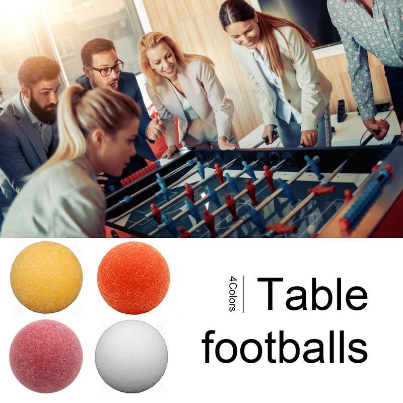 1pcs Standard Table Football Ball Matte Foosball Match Table Football Size 36MM Suitable For Most Table Football Tables