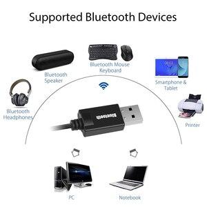 Image 3 - USB כוח 3.5mm AUX Bluetooth מקלט A2DP Dongle אלחוטי מוסיקה אודיו מתאם 3.5mm שקע מוסיקה משדר עבור רכב רמקול