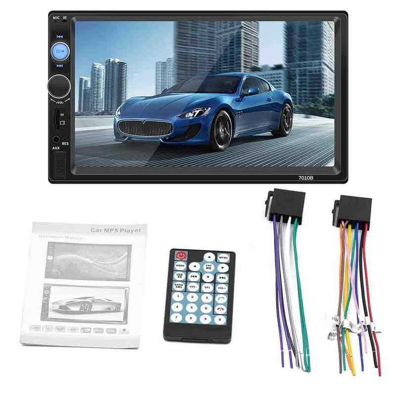 Профессиональный 2 Дин Радио 7 дюймов HD Авто радио мультимедиа плеер Сенсорный экран Авто аудио стерео MP5 Bluetooth USB TF FM Камера
