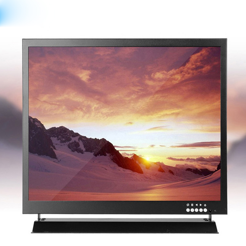19 дюймов промышленный HD ЖК дисплей монитор Экран HDMI/VGA Автомобильный Экран 1280*1024