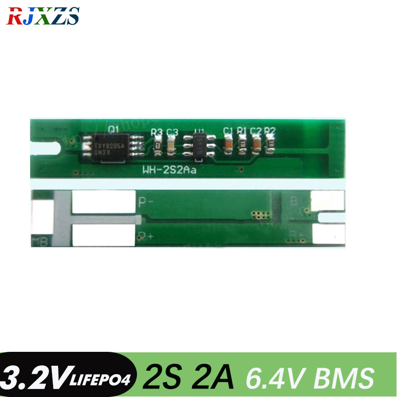 2A PCB BMS PCM Protection Board for 3 Packs LiFe LiFePO4 Battery Cell 3S 9.6v