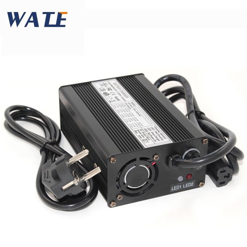 58 8V 3A Li ion Battery charger with fan 58 8V Smart charger Use for 51 8V 52V 14S electric bike battery pack
