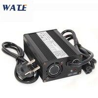 58.8V Bateria de íon Li 3A charger com ventilador 58.8V carregador Inteligente para Uso 51.8V 52V 14S bateria elétrica da bicicleta|Carregadores| |  -
