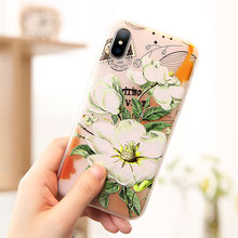 CASEIER Flower Patterned Phone Case For Huawei P30 P20 lite Mate 20 10 Soft Funda for P10 Y7 Y9 Cover
