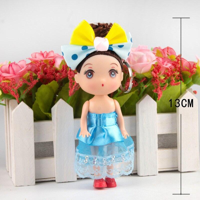 15cm 2019 hot sale Kids Toys Soft Interactive Mini Dolls Keychain Baby Dolls Wedding dress doll lol dolls toys Decoration Toys in Dolls from Toys Hobbies