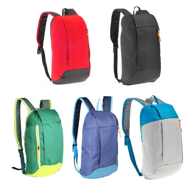 10L Unisex Folding Backpack Hiking Camping Bag Lightweight Travel Outdoor Sport Bag Waterproof Foldable Cycling Leisure Backpack