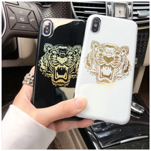 Luxury Gold Tiger Phone Case for iPhone XS MAX