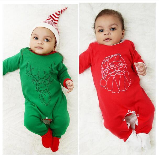 Для маленьких мужчин и женщин 0 12 24 месяцев полный хлопок с длинным рукавом Рождество Детская одежда Ha. Европейская детская одежда даже одеж