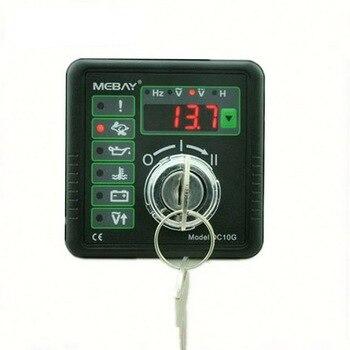 Multifunción DC10G generador conjunto controlador Motor manual inicio y parada controlador con Hz Volt batería certificación CE