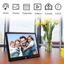 EastVita 12 дюймов 1080 P HD Цифровая фоторамка с пультом дистанционного управления Поддержка 32 г SD и USB для фотографий и видео
