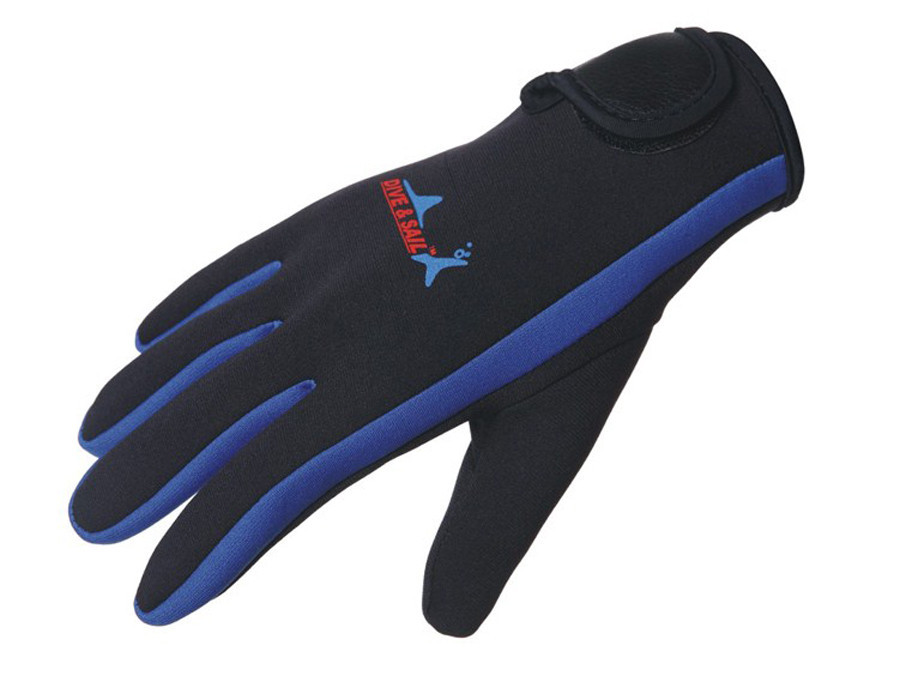 1.5mm Neopren Handschuhe mit Klettverschluß für Schwimmen Tauchen