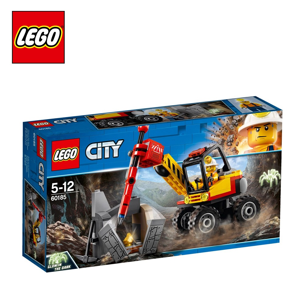 Фото - Blocks LEGO 60185 City play designer building block set  toys for boys girls game Designers Construction lego city mining 60185 трактор для горных работ конструктор