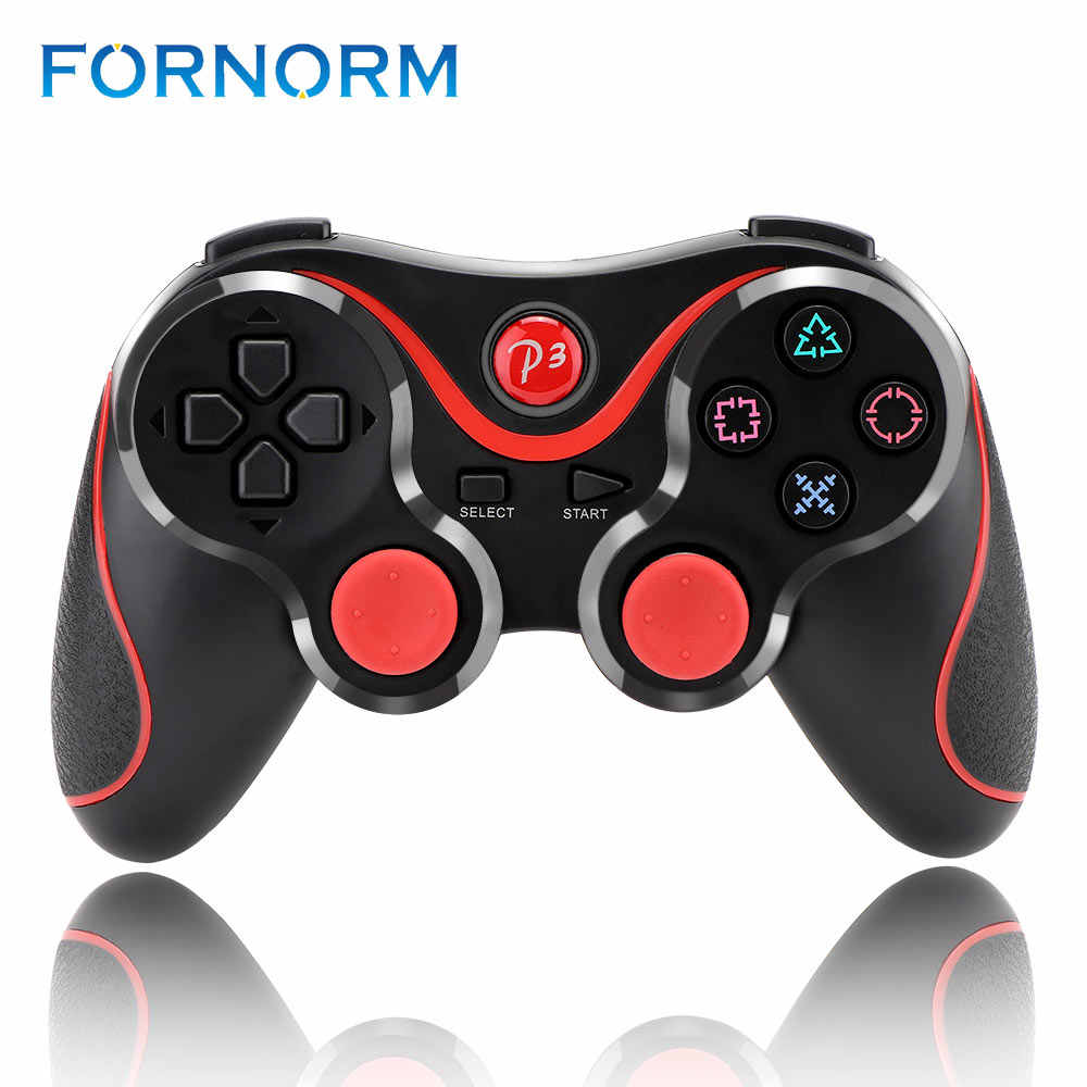FORNORM אלחוטי Bluetooth Gamepad בקר עבור PS3 בקר כפול רטט ג 'ויסטיק Gamepad פלייסטיישן 3 Motion חישה